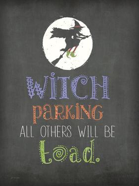 Witch Parking by Jo Moulton