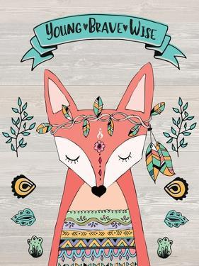 Young Brave Wise by Jo Moulton