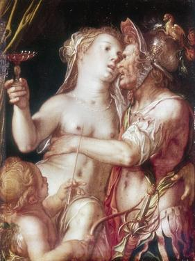 Mars and Venus, Late 16th-Early 17th Century by Joachim Anthonisz Wtewael