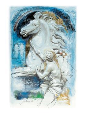 Alexander Taming Bucephalus by Joadoor