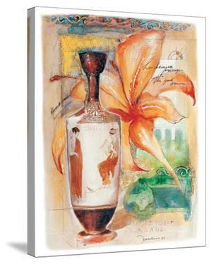 Greek Vase & Firelily by Joadoor