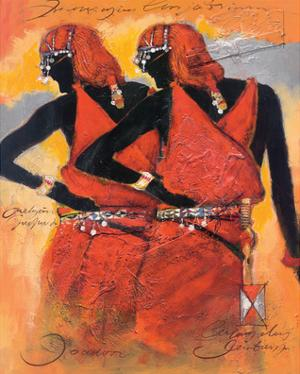 Massai Twins by Joadoor