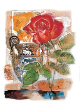 Red Rose by Joadoor