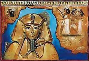 Tutanchamon In Blue by Joadoor