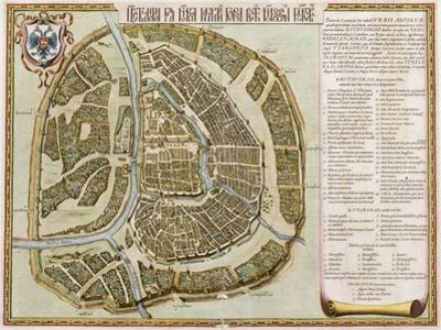 Amsterdam: Labore and Sumptibus, from 'Geographie Blaviane', 1662 (Hand Coloured Etching)