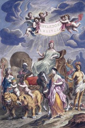 An Allegorical Plate with Title