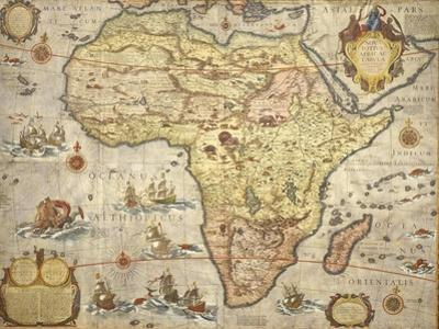 Map of Africa in 1686