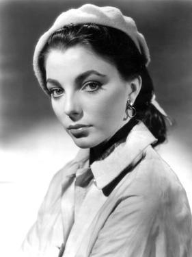 Joan Collins, British actress born May 23rd, 1933, here 1952 (b/w photo)