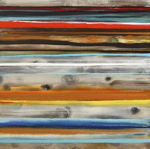 Boardwalk Sunset by Joan Davis