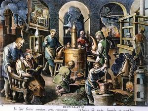 Alchemy: Laboratory by Joan Galle