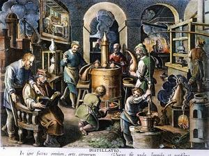 Alchemy: Laboratory by Joan Galle