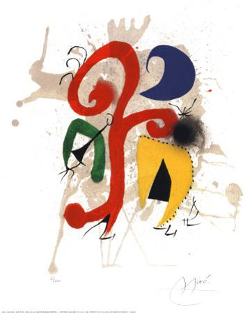 Abstract by Joan Miró