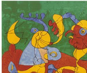 Adlige In Der Fallgrube by Joan Miró
