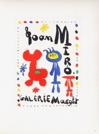 AF 1949 - Galerie Maeght by Joan Miró