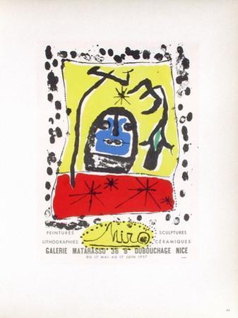 AF 1957 - Galerie Matarasso by Joan Miró