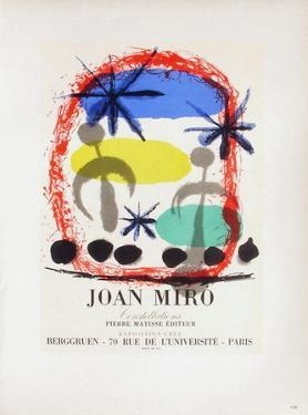 AF 1959 - Constellations Chez Berggruen by Joan Miro