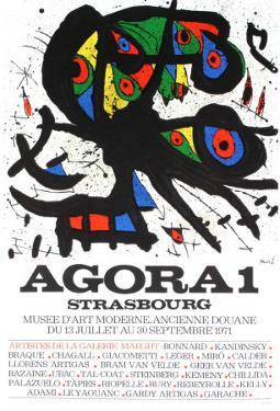 Agora1, Strasbourg, 1971 by Joan Miro