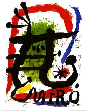 Alcohol de Menthe by Joan Miro