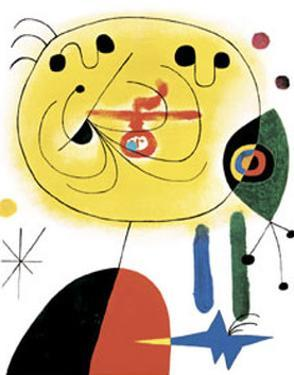 And Fix the Hairs of the Star by Joan Miro