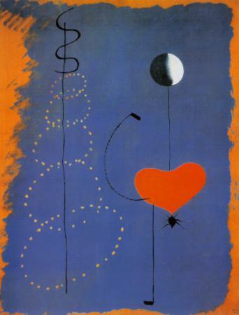Ballerina II, c.1925 by Joan Miró