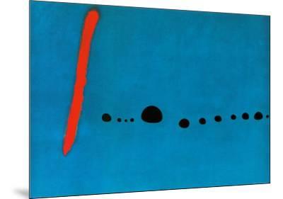Bleu II by Joan Miró