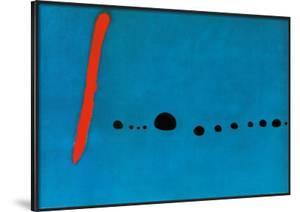 Bleu II by Joan Miró