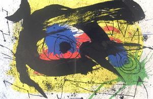 Derriere le Miroir no. 203, pg 4,5 by Joan Miró