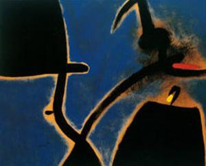 Dones Ocell by Joan Miró
