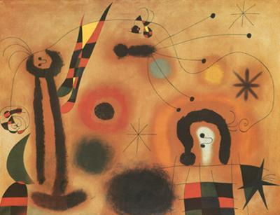 Dragon with Red Wings by Joan Miró