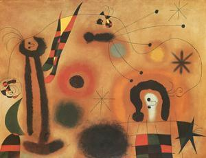 Dragon with Red Wings by Joan Miro
