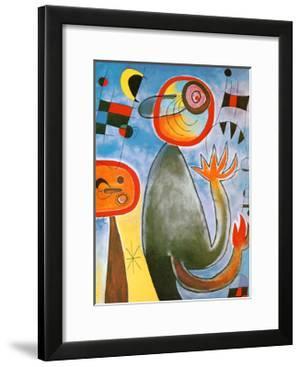 Echelles en Roue de Feu Traversant by Joan Miró