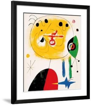 Et Fixe Les Cheveux d'une Etoile by Joan Miró