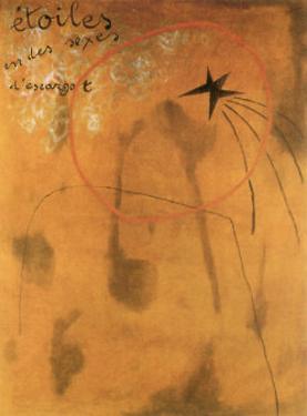 Etoiles d'Escargot, 1925 by Joan Miro