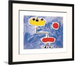Figur Vor Roter Sonne by Joan Miró
