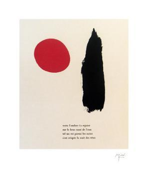 """Illustrated Poems-""""Parler Seul"""" by Joan Miro"""