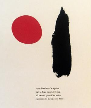 "Illustrated Poems-""Parler Seul"" by Joan Miro"
