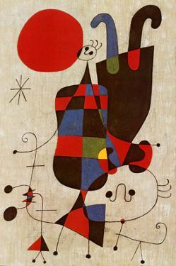 Inverted Personages by Joan Miró