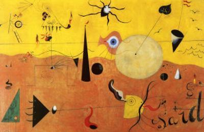 Katalanische Landschaft by Joan Miró