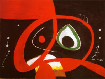 Kopf by Joan Miró