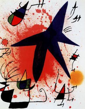L'Etoile Bleue by Joan Miro