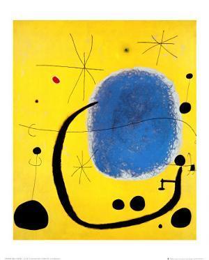 L'Oro dell' Azzurro by Joan Miro