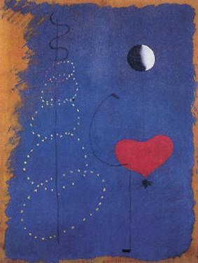 La Danseuse, 1925 by Joan Miró