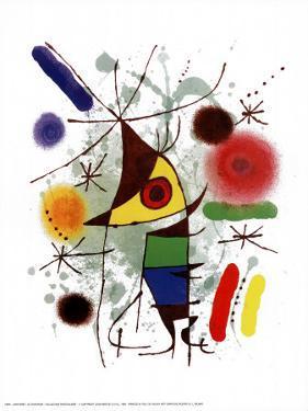 Le Chanteur by Joan Miro