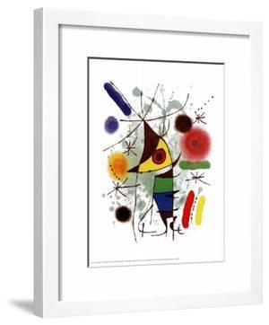 Le Chanteur by Joan Miró