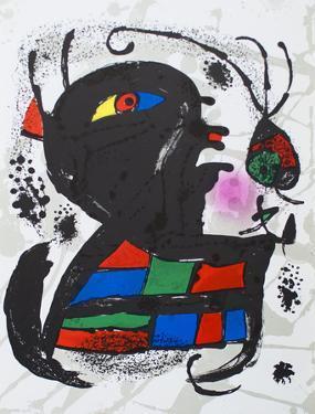 Litografia original V by Joan Miró