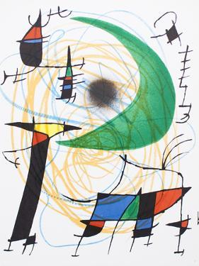 Litografia original V by Joan Miro