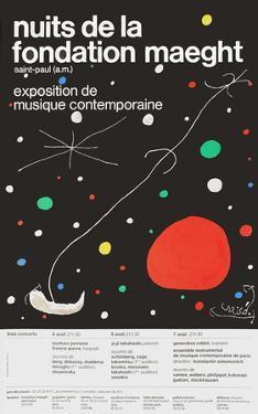 Nuits de la Fondation by Joan Miro
