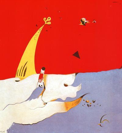 Paysage, c.1925 by Joan Miró