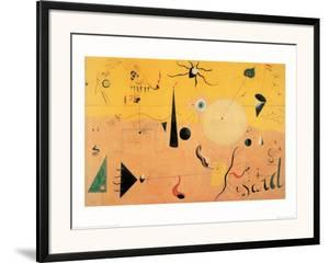 Paysage Catalan (Le Chasseur), c.1923 by Joan Miró