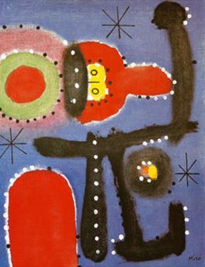 Peinture, c.1954 by Joan Miró